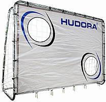 Футбольные ворота HUDORA с экраном (игровые футбольные ворота, тренировочные ворота, игровые)