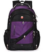 Рюкзак швейцарского бренда Wenger SwissGear. Модель 1418 (фиолетовый).