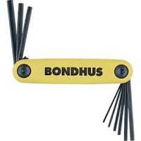 Ключи BONDHUS Hex Set Foling 1.5-6 mm.
