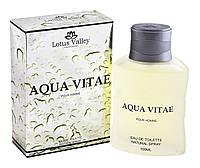 Туалетная вода мужская Aqua Vitae 100мл т/в муж Lotus Valley