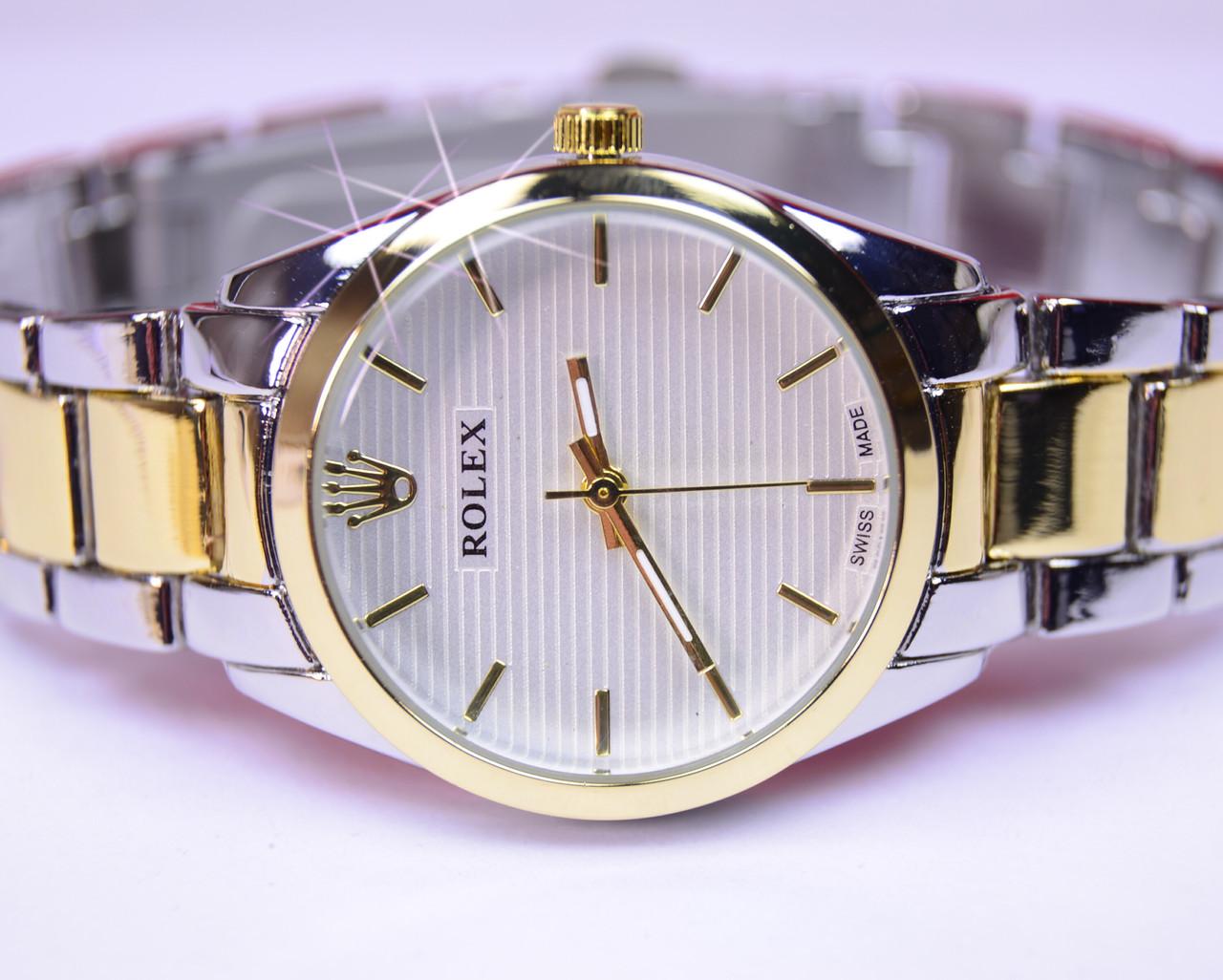 Женские часы Rolex Date Just Gold