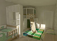Комната с игровой зоной , фото 1