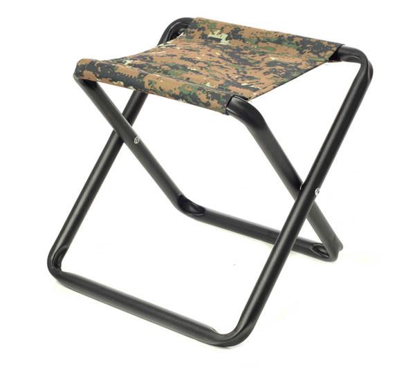 Складной стул без спинки для пикника и рыбалки.