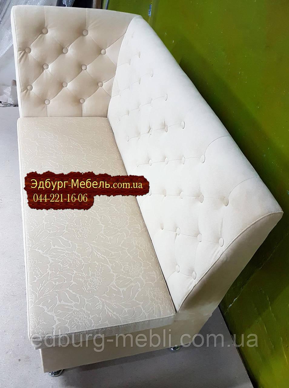 Велюровый диван с пуговицами Ренессанс