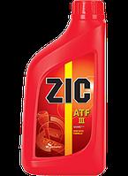 Масло трансмиссионное ZIC ATF III, 1л (пр-во ZIC)