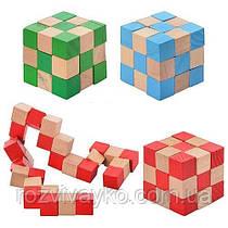 Головоломка Кубик - змейка