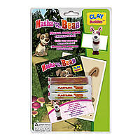 Набор для творчества CLAY Buddies Маша и Медведь Собака базовый (308998)