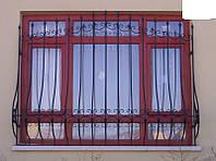 Решотка кованая на окна, фото 1