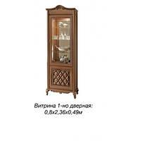 Новита витрина 1-но дверная  (Скай) 80х236х49