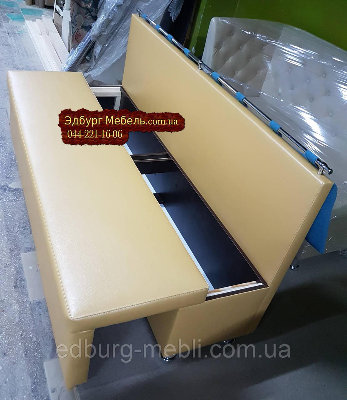 Диван для узкой комнаты с ящиком + спальным местом 1800х500х870мм - фото 5