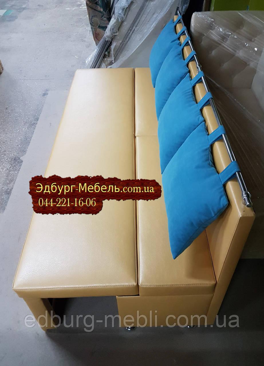 Диван для узкой комнаты с ящиком + спальным местом 1800х500х870мм - фото 6