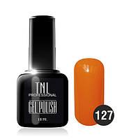 Гель-лак TNL № 127 апельсин 10 мл.