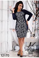 Стильное Платье женское (48-54), доставка по Украине