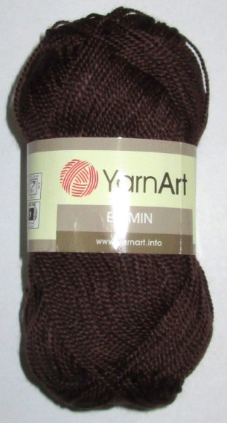 Пряжа YarnArt Этамин, коричневая