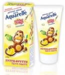Детская зубная паста Aquarelle Тутти-фрутти