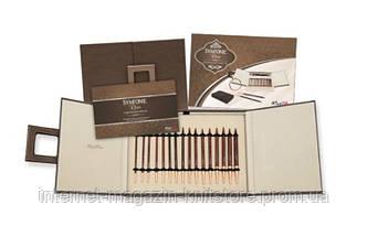 Набор деревянных съемных спиц Deluxe в подарочной коробке Simfonie Rose KnitPro