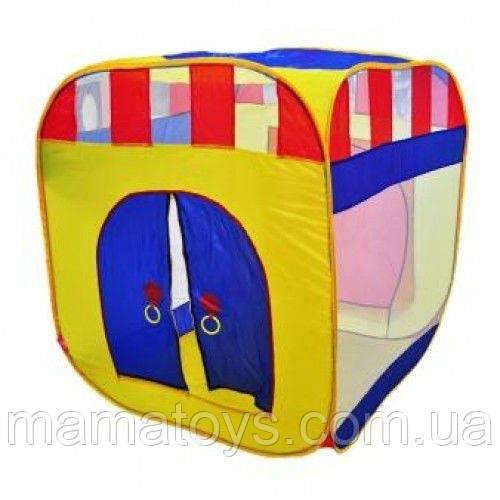 Детская игровая Палатка 0505 куб Размеры 108х94х94 см