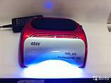 Лампа гибрид для сушки на 48 вт LED + CCFL таймер 10,20,30 сек ОРИГИНАЛ, фото 2
