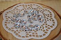 Сердечка серебренные стекло