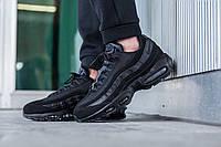 Мужские стильные кроссовки Nike Air Max 95 Black