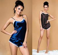 Атласная женская пижама мод.032