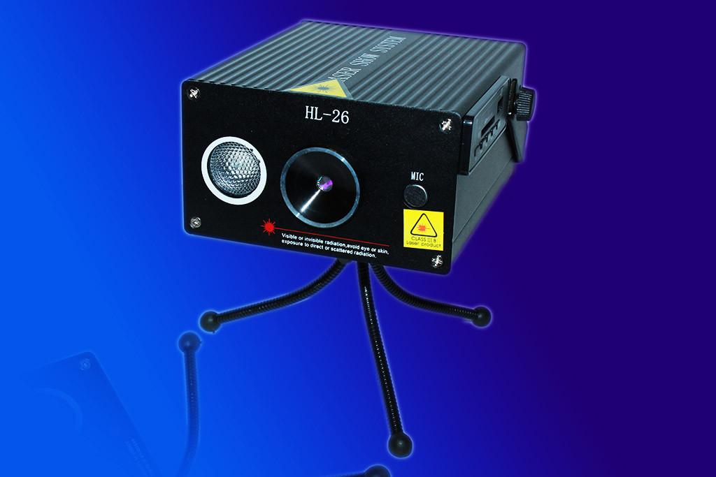 """Лазерная установка HL-26 с USB, лазерный проектор цветомузыка  - Интернет-магазин """"У Игоря"""" в Виннице"""
