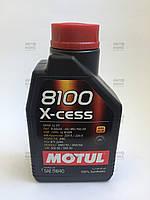 Масло моторное синтетическое Motul 8100 X-CESS 5W40 (1L)