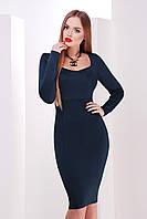 Платье с длинным рукавом. Платье. Платье классическое. Стильное платье.