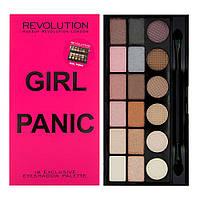 MUR Salvation Palette - Палетка из 18 оттенков теней (Girl Panic), 13 г