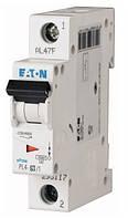 Автоматический выключатель Eaton PL4  1P 63А х-ка C