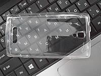 Чехол  Бампер силиконовый для Lenovo А2010 прозрачный