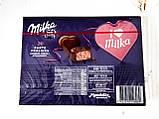 Шоколадные конфеты в коробке Milka I Love с клубничным пралине, 110 гр, фото 6