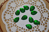 Капельки зеленые
