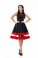 Нарядное платье без рукава