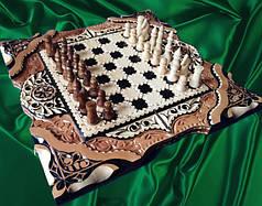 Шахматы-нарды под заказ
