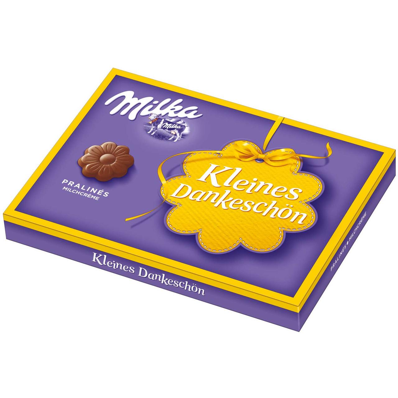 Шоколадные конфеты в коробке Milka Alltags-Heldin с пралине, 110 гр