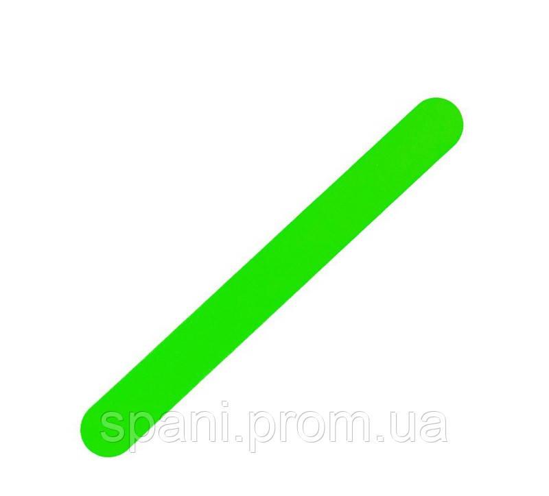 Пилка для ногтей прямая Naomi 180/240, салатовый