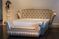 Кровать Клеопатра с пуфом