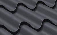 Металлочерепица «Арсенал» Стандарт (цвет-коричневый, покрытие-мат.полиэстер)