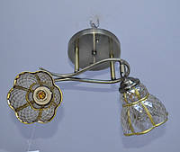 Люстра потолочная на 2 лампочки.      70682/2