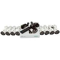 Переваги покупки готового комплекту відеонагляду Green Vision GV-K