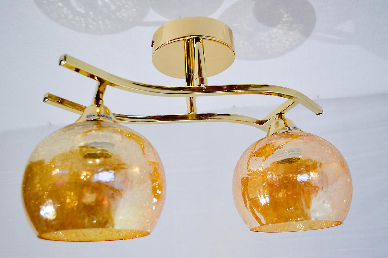 Люстра потолочная на 2 лампочки P3-1113d/2F