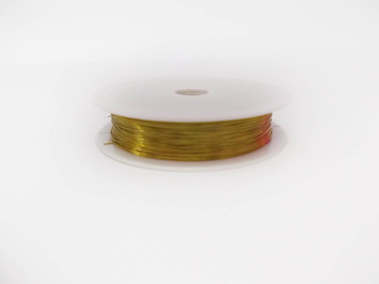 Декоративная проволока 0,3 мм Gold