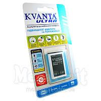 Усиленный аккумулятор KVANTA. Nokia BL-4C (6100, 6300) 950mAh