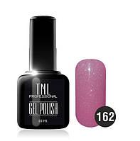 Гель-лак TNL № 162 лососево-розовый с перламутром 10 мл.