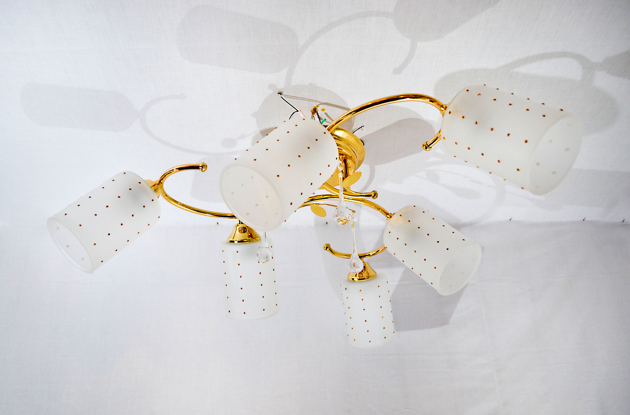 Люстра потолочная на 6 лампочек P3- 37391/6c