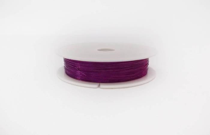 Декоративная проволока 0,3 мм Фиолетовая