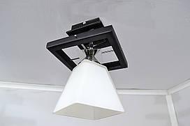 Люстра на 1 лампочку P3- 91154/1P (DK+MK)