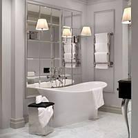 Зеркальная плитка в ванную
