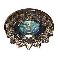 Встраиваемый светильник  CD2542 прозрачный чайный 18930 (4572)